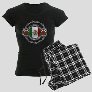 Mexico Football Women's Dark Pajamas