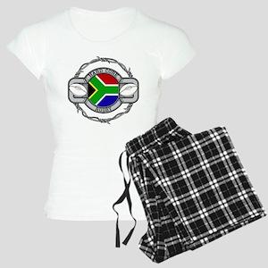 Hard Core South Africa Rugb Women's Light Pajamas
