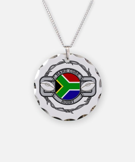 Hard Core South Africa Rugby Necklace