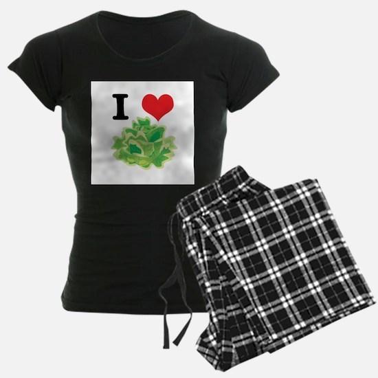 I Heart (Love) Lettuce Pajamas