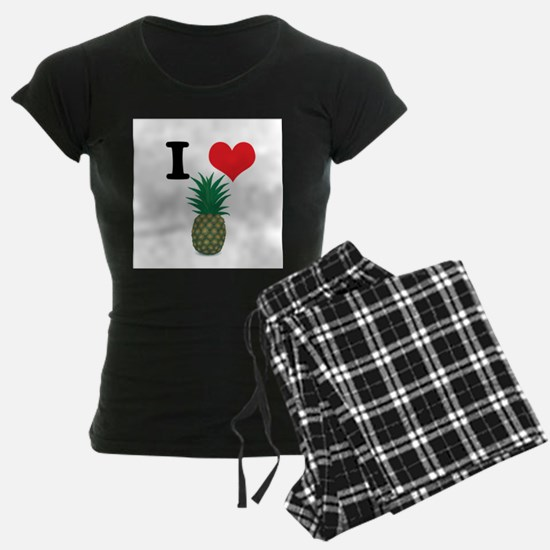 I Heart (Love) Pineapple Pajamas