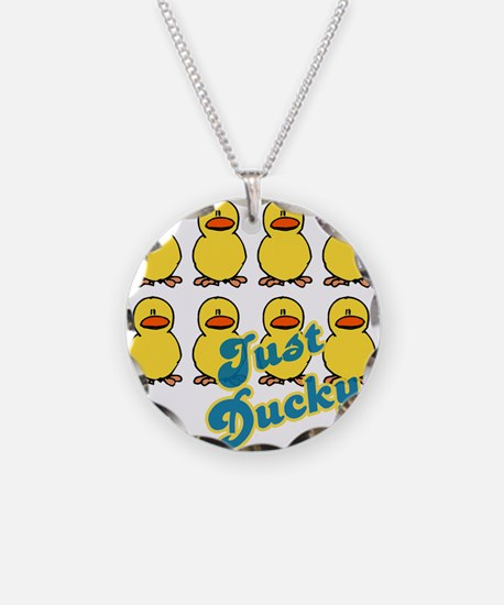 Just Ducky Ducks Necklace