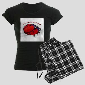 Bug up Your Ass? Women's Dark Pajamas