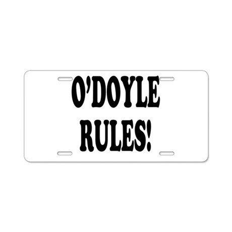 O'Doyle Rules! Aluminum License Plate