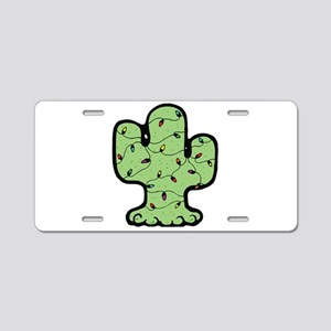 Country Style Christmas Cactu Aluminum License Pla