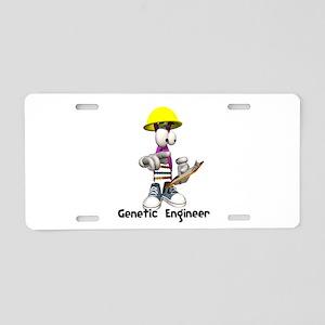 Funny Genetic Engineering Dna Aluminum License Pla
