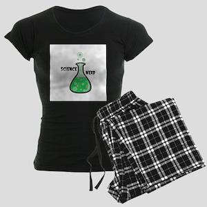 Science Nerd Women's Dark Pajamas
