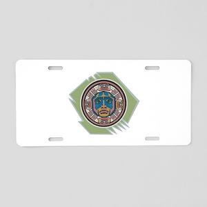 Indian Spirit Emblem Aluminum License Plate