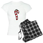 Happy Smiley Candy Cane Women's Light Pajamas