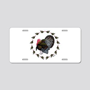 Turkey Circle Aluminum License Plate