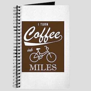 I Turn Coffee Into Miles Journal