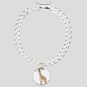 Silly Monkey & Giraffe Charm Bracelet, One Charm