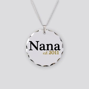 New Nana Est 2011 Necklace Circle Charm