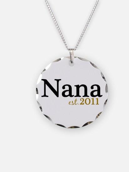 New Nana Est 2011 Necklace Circle Charm