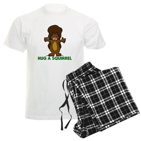 Hug a Squirrel Men's Light Pajamas