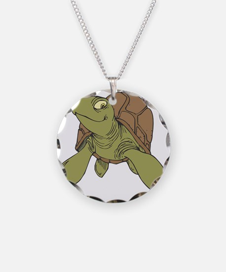 Grinning Sea Turtle Necklace