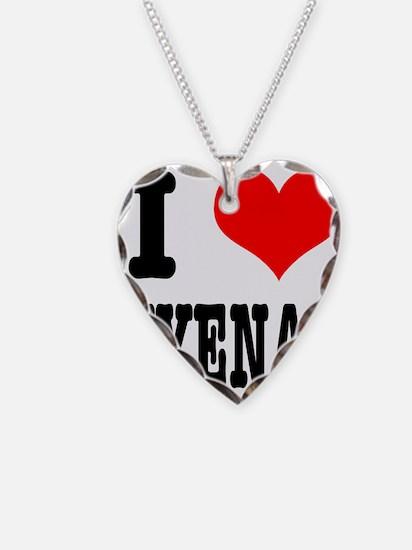 I Heart (Love) Hyenas Necklace