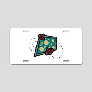 Two Lil LadyBugs Aluminum License Plate