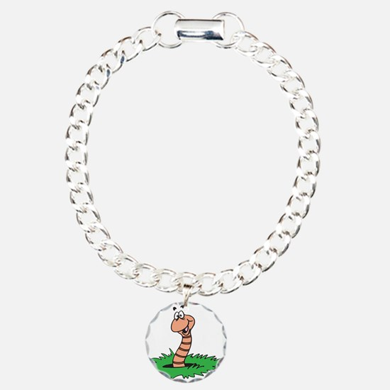 Happy Smiling Earthworm Bracelet