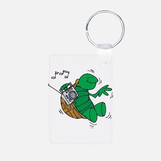 Rockin' Music Turtle Keychains
