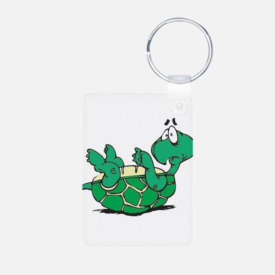 Scared Little Turtle Keychains