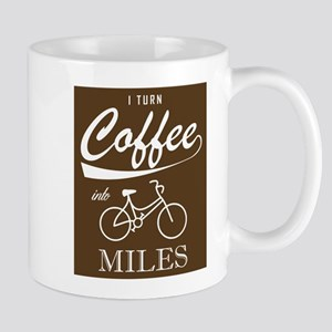 I Turn Coffee Into Miles Mugs