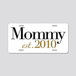 New Mommy 2010 Aluminum License Plate