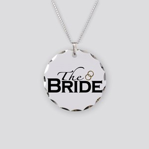 The New Bride Necklace Circle Charm