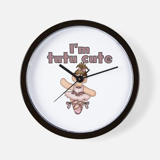 Tutu Cute Wall Clock