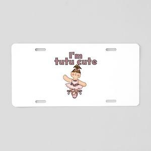 Tutu Cute Aluminum License Plate