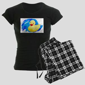 Rubber Ducky Women's Dark Pajamas