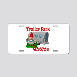 Trailer Park Gnome Aluminum License Plate