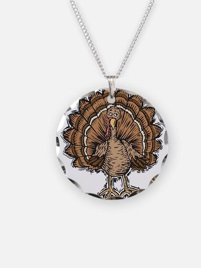 Cute Cartoon Turkey Necklace