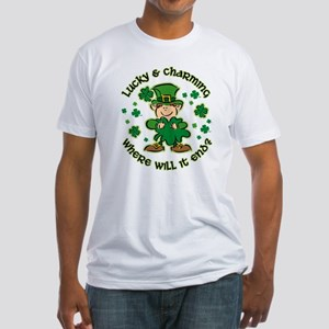 Lucky & Charming Kids Fitted T-Shirt