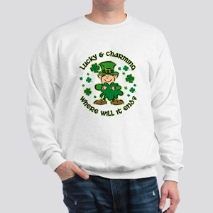 Lucky & Charming Kids Sweatshirt