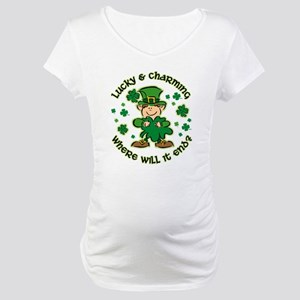 Lucky & Charming Kids Maternity T-Shirt