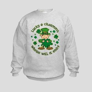 Lucky & Charming Kids Kids Sweatshirt