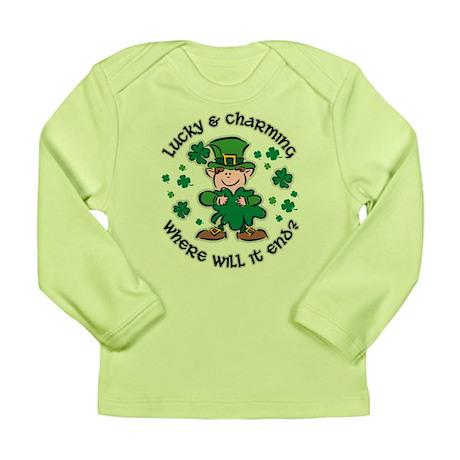 Lucky & Charming Kids Long Sleeve Infant T-Shirt