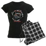 Musky hunter,3 Women's Dark Pajamas