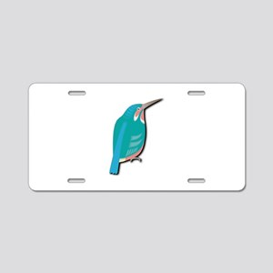 Dacelo Bird Aluminum License Plate