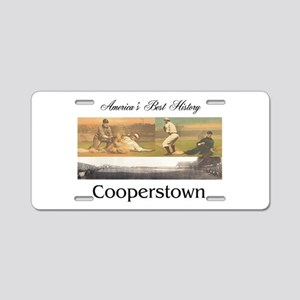 Cooperstown Americasbesthis Aluminum License Plate