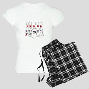 Beat Up Bowling Pins Women's Light Pajamas