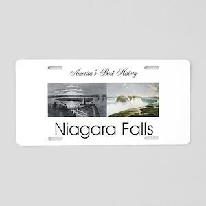ABH Niagara Falls Aluminum License Plate