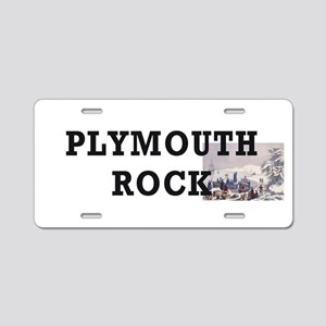 ABH Plymouth Rock Aluminum License Plate