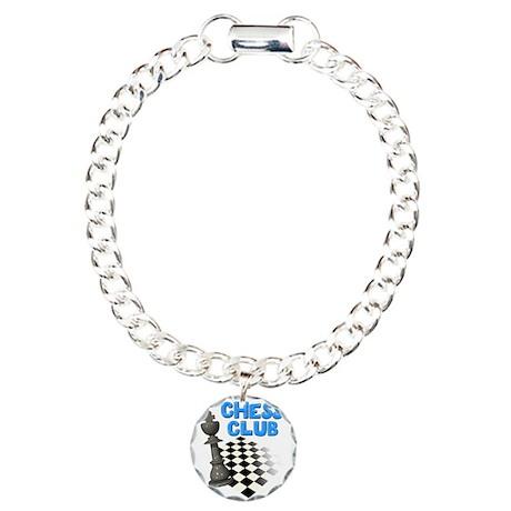 Chess Club Charm Bracelet, One Charm