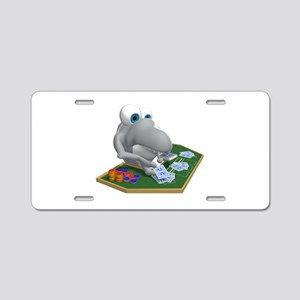 Card Shark Dealer Aluminum License Plate