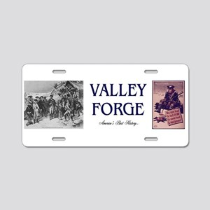 ABH Valley Forge Aluminum License Plate