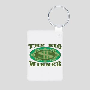 The Big Winner Aluminum Photo Keychain
