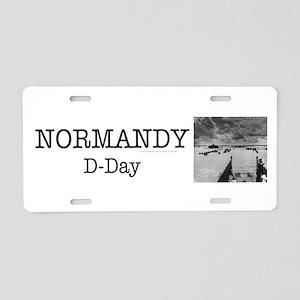 Normandy Americasbesthistor Aluminum License Plate