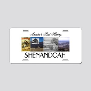 ABH Shenandoah Aluminum License Plate